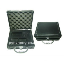 Permanent makeup machine leather box cosmetic vanity case