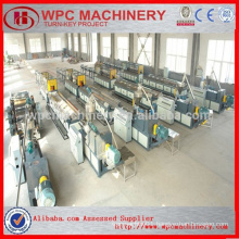 Wood shavings/pellet/sawdust/rice husk+PVC powder composite WPC PVC Board Machine/PVC foam board machine