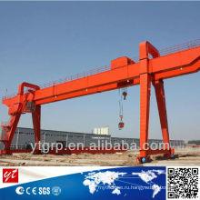 Железнодорожный Тип двухбалочный/балка, Козловой кран 100 тонн