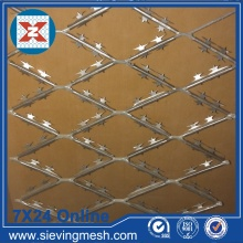 Expanded Metal Mesh with Barb