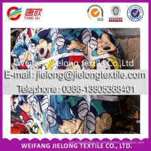 Fuente de alta calidad de la tela de poliéster del suministro de la fábrica para la sábana