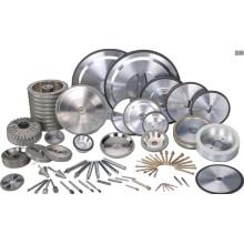 Roues à meuler au diamant, outils CBN