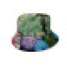 Chapéu de balde com tecido floral (BT034)
