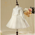 2017 novos projetos de moda personalizado, Natal novos estilos meninas meninas de flores vestidos de casamento, vestidos de festa de ano novo de dança