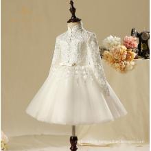 2017 nouvelles conceptions de mode personnalisées, Noël nouveaux styles filles filles fleur robes de mariée, robes de soirée de fête de nouvelle année