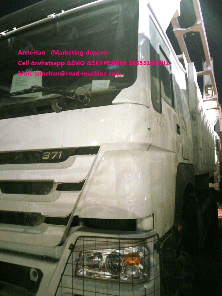 Sinotruk Dump Cargo Truck Delivery Ptos 4