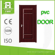 Hot sale hihg qualidade pvc mdf madeira porta interior de zhejiang china