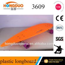 PU roue longboard orange longboard skateboard