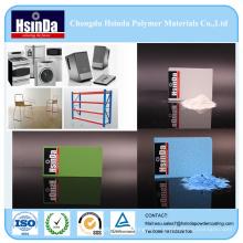 Recubrimiento en polvo epoxi interior polvo pulverización para electrodomésticos