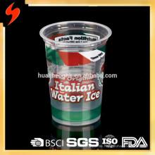Einweg-Plastiknahrungsmittelbehälter 300ml Gefrierschrank Sicher