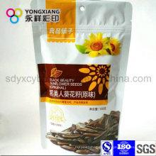 Kundengebundene Größe Kleine Snack Food Stand up Ziplock Bag