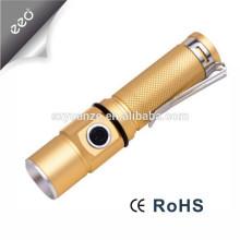 Lampe de poche à allumage en aluminium Q5 de meilleure qualité et meilleure qualité