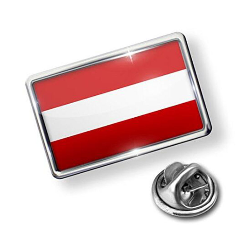 Pin Austria Flag Lapel Badge