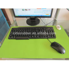 computer desk rubber mat, keybord rubber table cover, table mat for computer