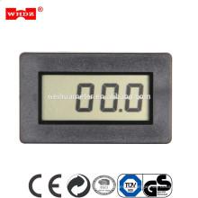 PM438 Medidor de Painel Digital 12 V / Mini Tipo Grande LCD Medidor de Painel DCV 0 ~ 450 V padrão: 200mV