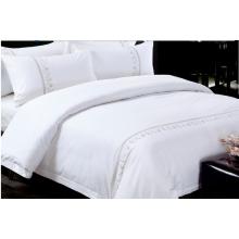 3-5 Star Hotel Bordado 100% Juego de cama de algodón egipcio