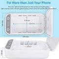 Wireless Charger Phone UV Light Sterilizer Box