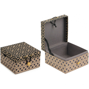 Magnet Hinged Folding Dress Gift Book Bentuk Box
