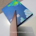 Großhandel glänzend / Metallic-Oberfläche Alufenwall PE-beschichtete Aluminium-Verbundplatte 2M Breite
