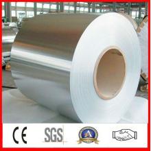 Placa de acero laminada en frío para materiales de construcción y puertas