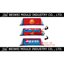 Plastic Taxi Roof Advertising Box Mould