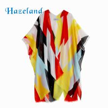 свободная пляжная одежда с короткими рукавами в стиле бохо