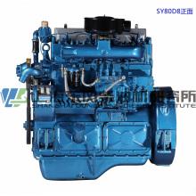 6-цилиндровый, 154 кВт, дизельный двигатель Shanghai Dongfeng для генераторной установки