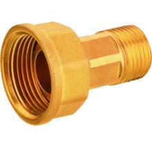 Connecteur en laiton J2057 pour compteur de gaz, raccords en laiton, vanne en laiton
