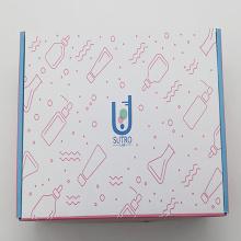 Boîte de rangement transparente pour chaussures avec logo