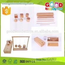 Juguetes de madera educativos del aprendizaje de los juguetes del gabe de madera del nuevo producto de la buena calidad para los niños