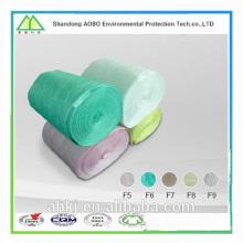 medios de filtro de aire lavable / material de filtro de aire F5