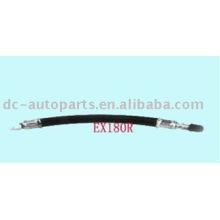 Extensiones de válvula de goma flexible EX75R