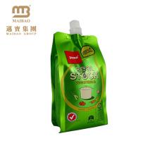 Saco líquido personalizado do malote do bico da bebida do suco do pacote da bebida do suco do reforço do lado do produto comestível do bocal