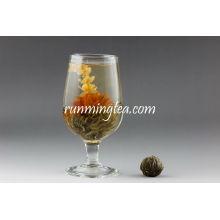 Bai He Xian Zi (el té de hadas que florece Lily RMT-BMW037) ESTÁNDAR DE LA UE