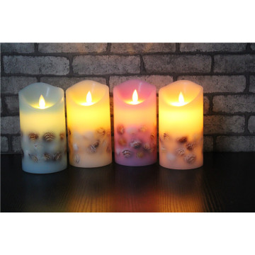 Lilin Lembut Flicker Flameless Real Candle LED Lilin