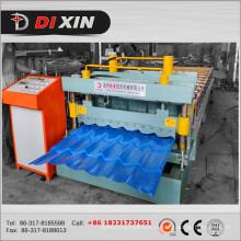 Telha de telhado da chapa de aço da cor de Dx 1100 que forma a máquina