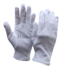 NMSAFETY Watch Shop zeigt Verwendung 100% Baumwolle weiße Handschuhe Anti-Staub