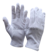 NMSAFETY Watch shop montrant utiliser des gants 100% coton blanc anti-poussière