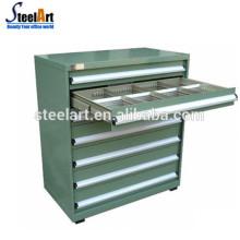 armoires d'outils de stockage de tiroirs d'atelier en métal bon marché