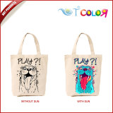 Reasonable & acceptable price promotional custom-made uv color change tote bags