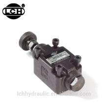 valve de contrôle de débit ajuster automatiquement le système hydraulique
