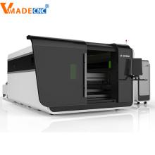 Découpeuse de laser de fibre de revêtement de verre trempé 1000W