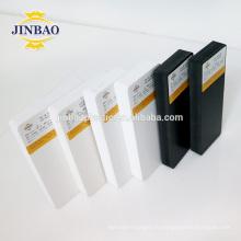 JINBAO panneau de mousse de PVC noir et blanc 4x8 pieds produit personnalisé