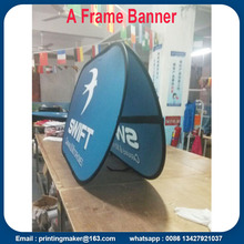 100x200 cm Deportes Pop Up Banners de tela