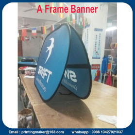 100x200 cm Spanduk Kain Pop Up Olahraga