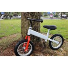 White Air Tire Children Balance Bicycle