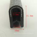 U Shield Extruded PVC Rubber Seals Strip para porta e janela