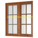 American Casement Style Aluminum Wood Casement Window