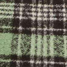 30% Wolle 70% Polyester Stoff Wolle Frauen Schecks Kleidungsstück