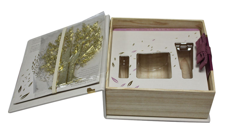 Special cosmetic set packaging box
